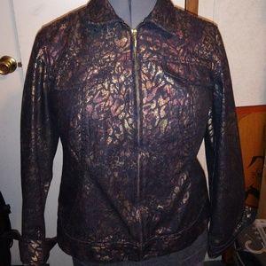 Chico jean jacket size 1